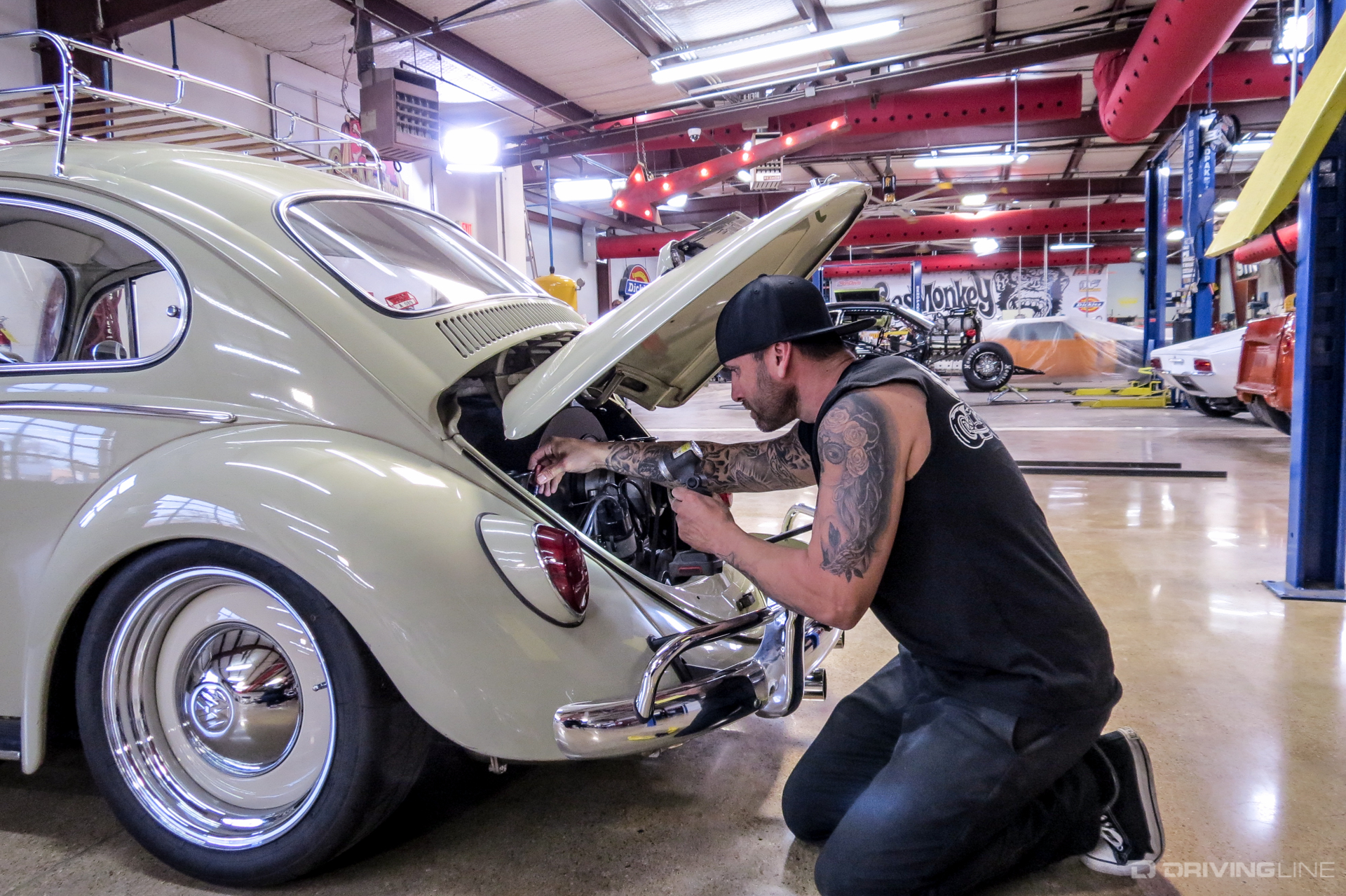 gas monkey garages aaron kaufman on building cars for autos post. Black Bedroom Furniture Sets. Home Design Ideas
