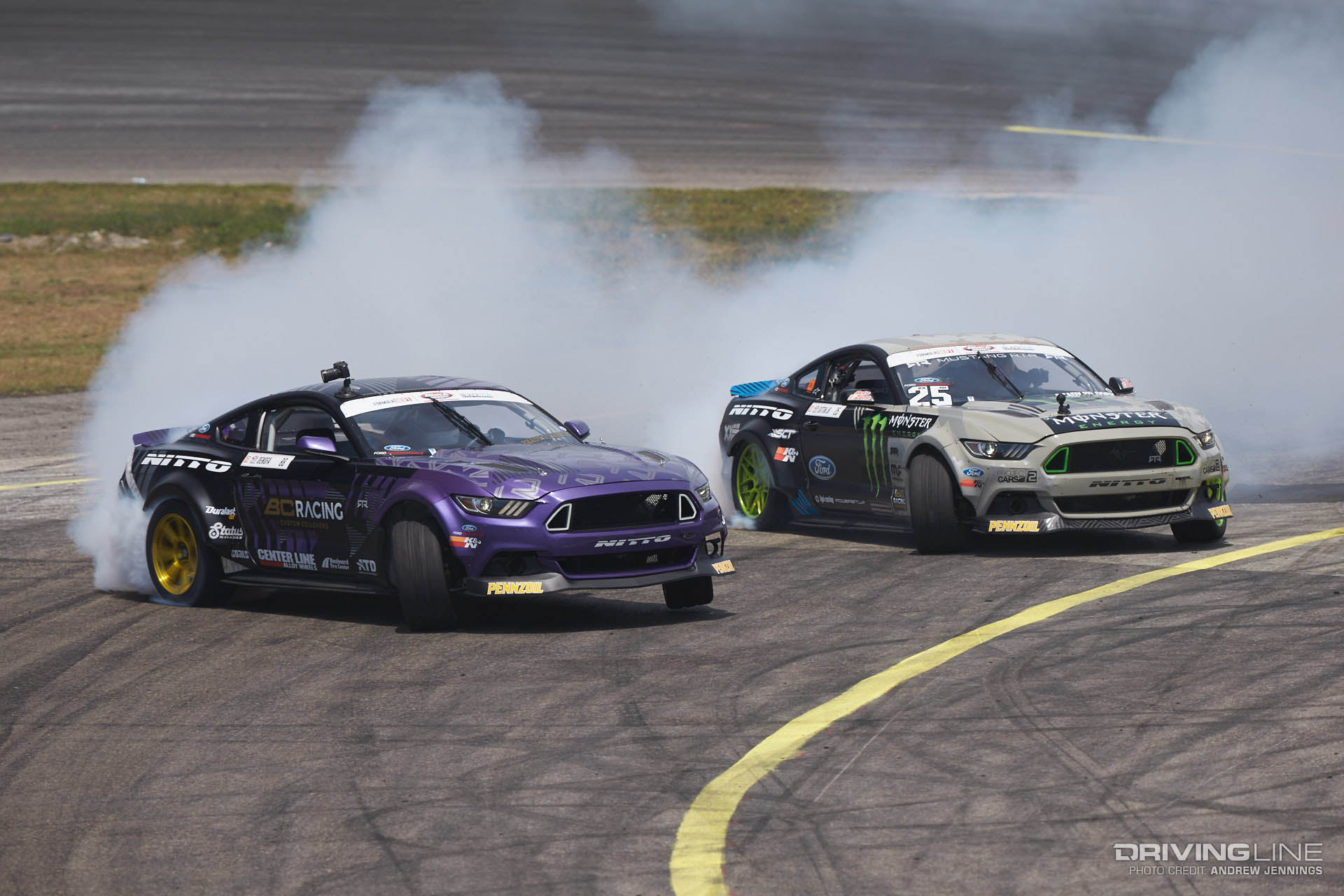 Chelsea DeNofa and Vaughn Gittin Jr.