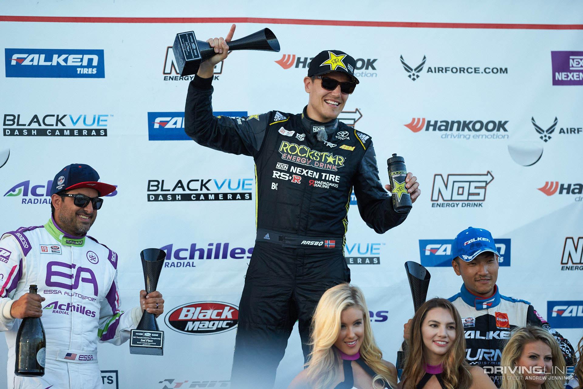 FD Orlando podium