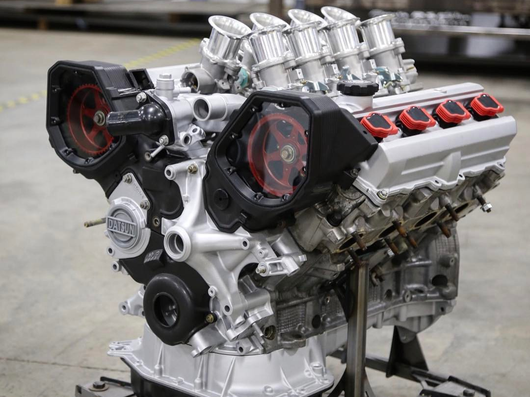 Engineering Perfection: The V8 Twin-Turbo Datsun 620 Build