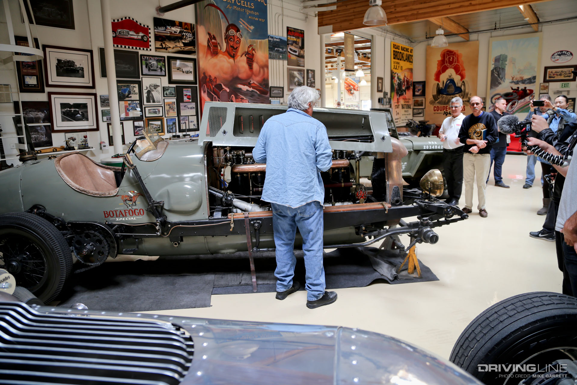 7 things that may surprise you if you visit jay leno 39 s for Garage automobile tours nord