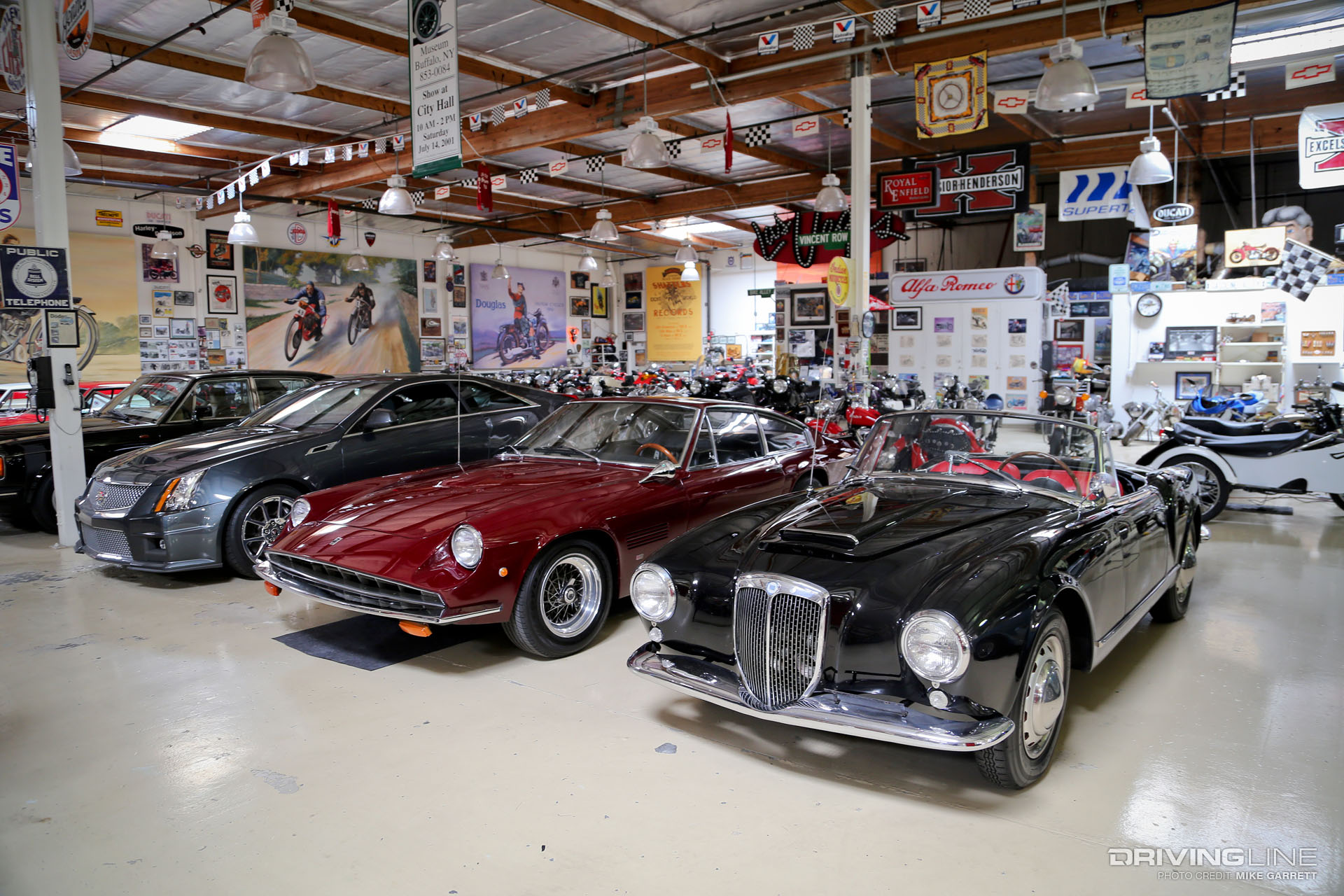 7 things that may surprise you if you visit jay leno 39 s garage drivingline. Black Bedroom Furniture Sets. Home Design Ideas