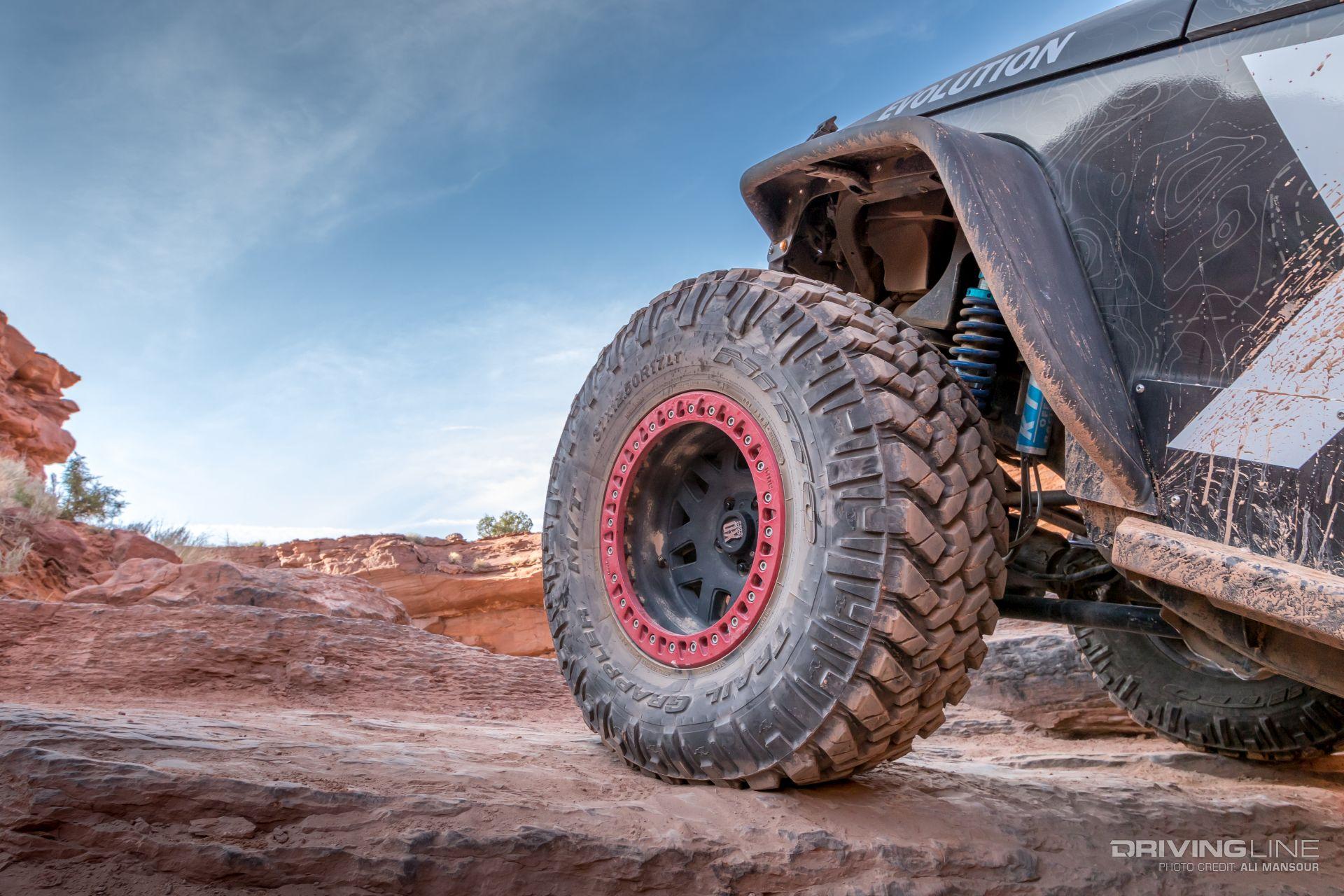 Jeep Jk Tires >> A JK With Animal Instincts: KMC's Black Badger | DrivingLine