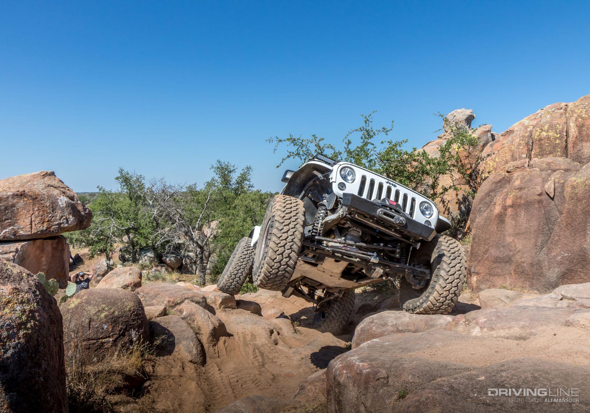 Discount Tire Texas >> 2017 Jeep Xperience Texas | DrivingLine
