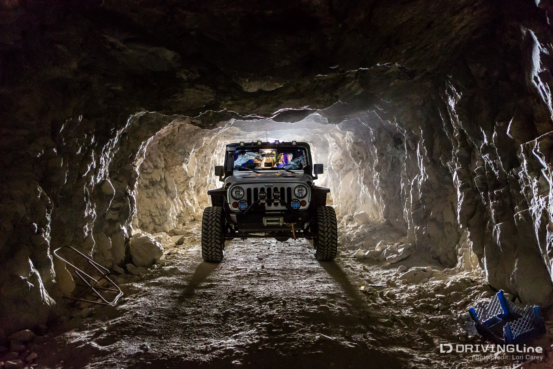Jeep Wrangler Diesel >> Journey to the Center of the Earth at Reward Mine ...