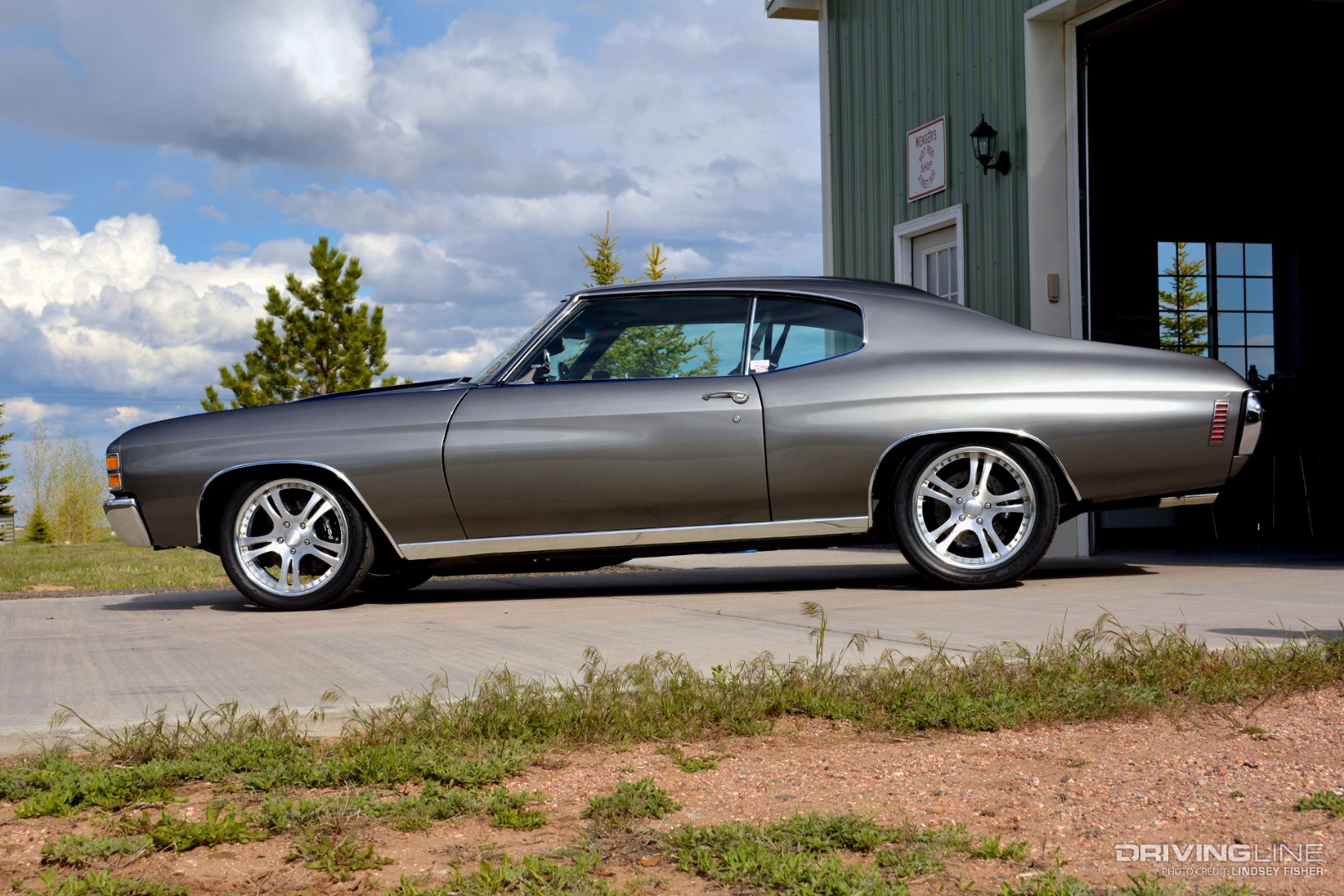 A 71 Pro Touring Chevelle Built For Driving Drivingline