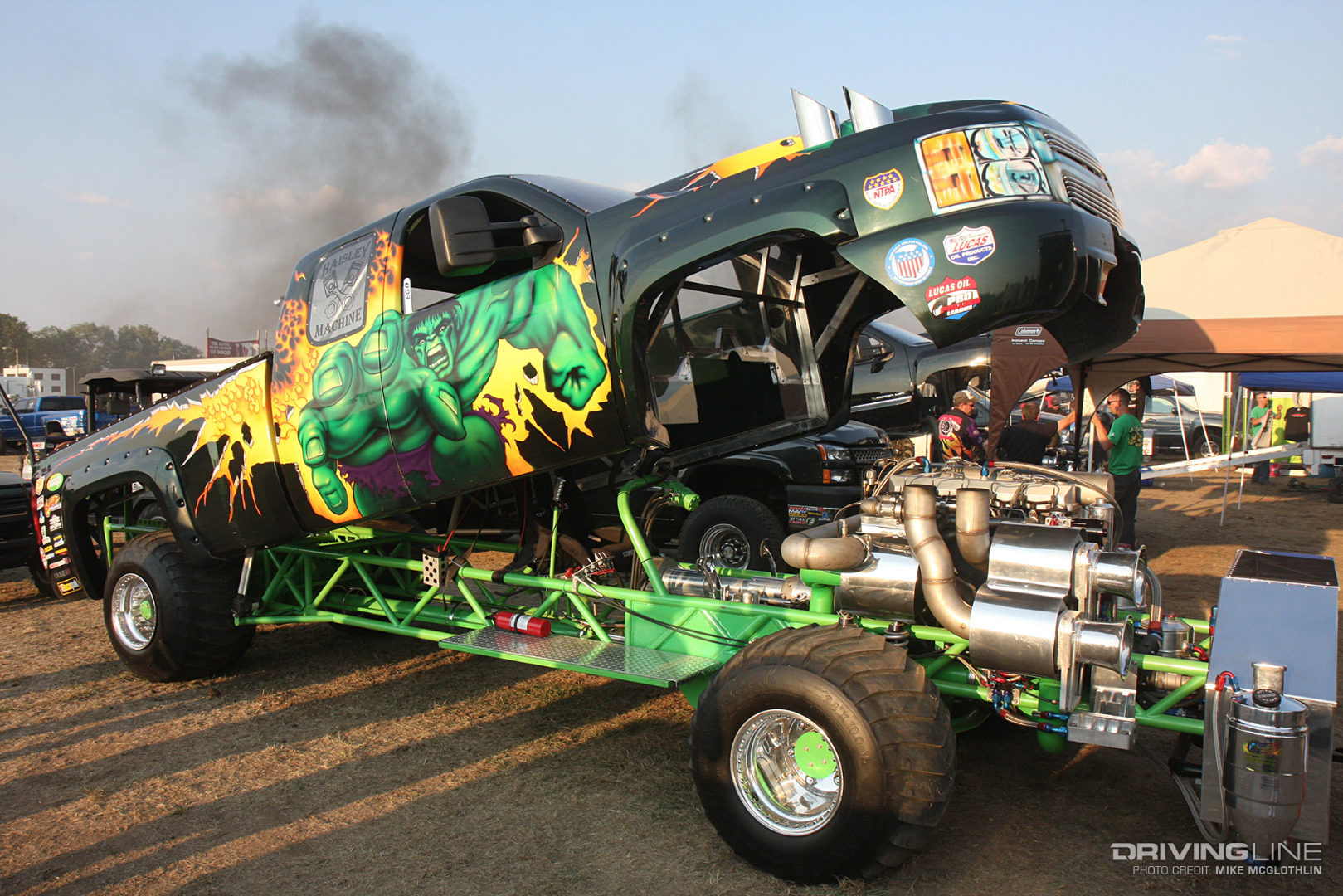 Fast Lane Motors >> Anatomy of a Super Stock Diesel Truck | DrivingLine