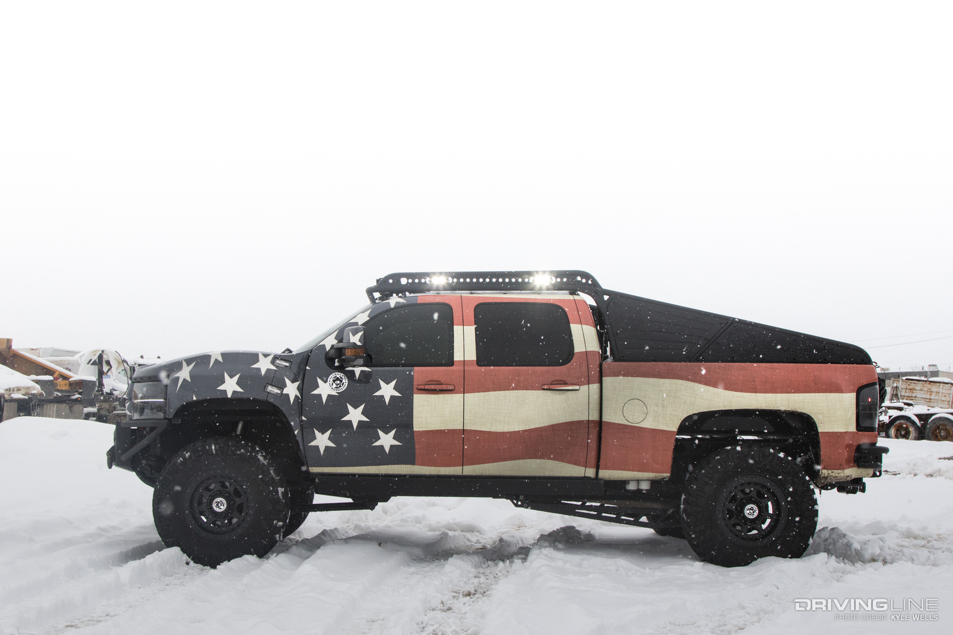 Truck Norris: Possibly the Most 'Merica Thing on 4 Wheels ...