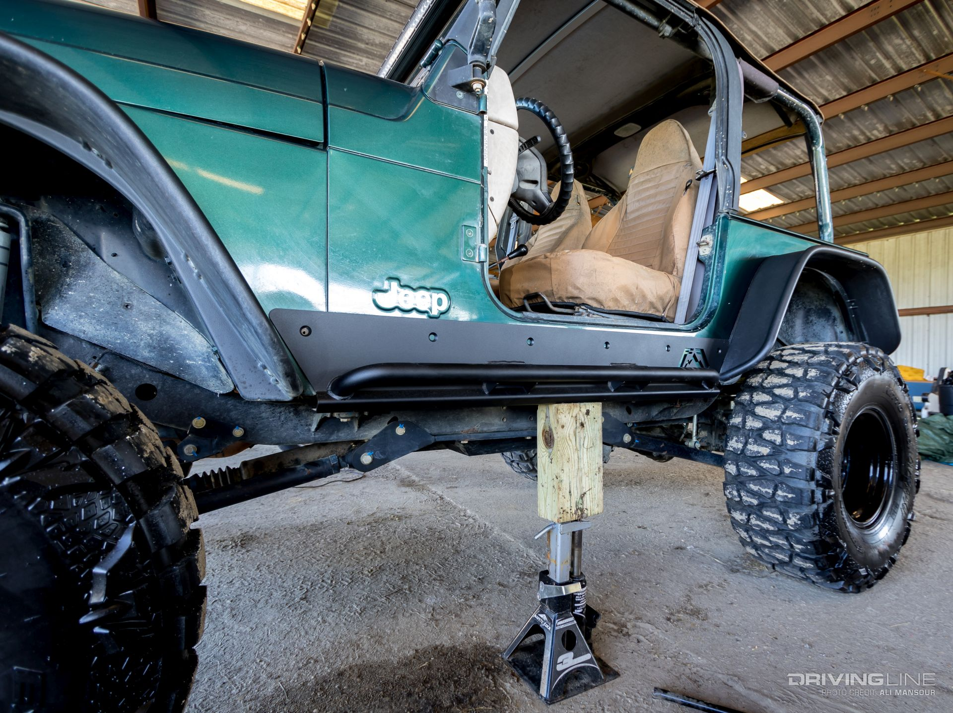 Off Your Rockers: Fab Fours TJ Rock Sliders | DrivingLine