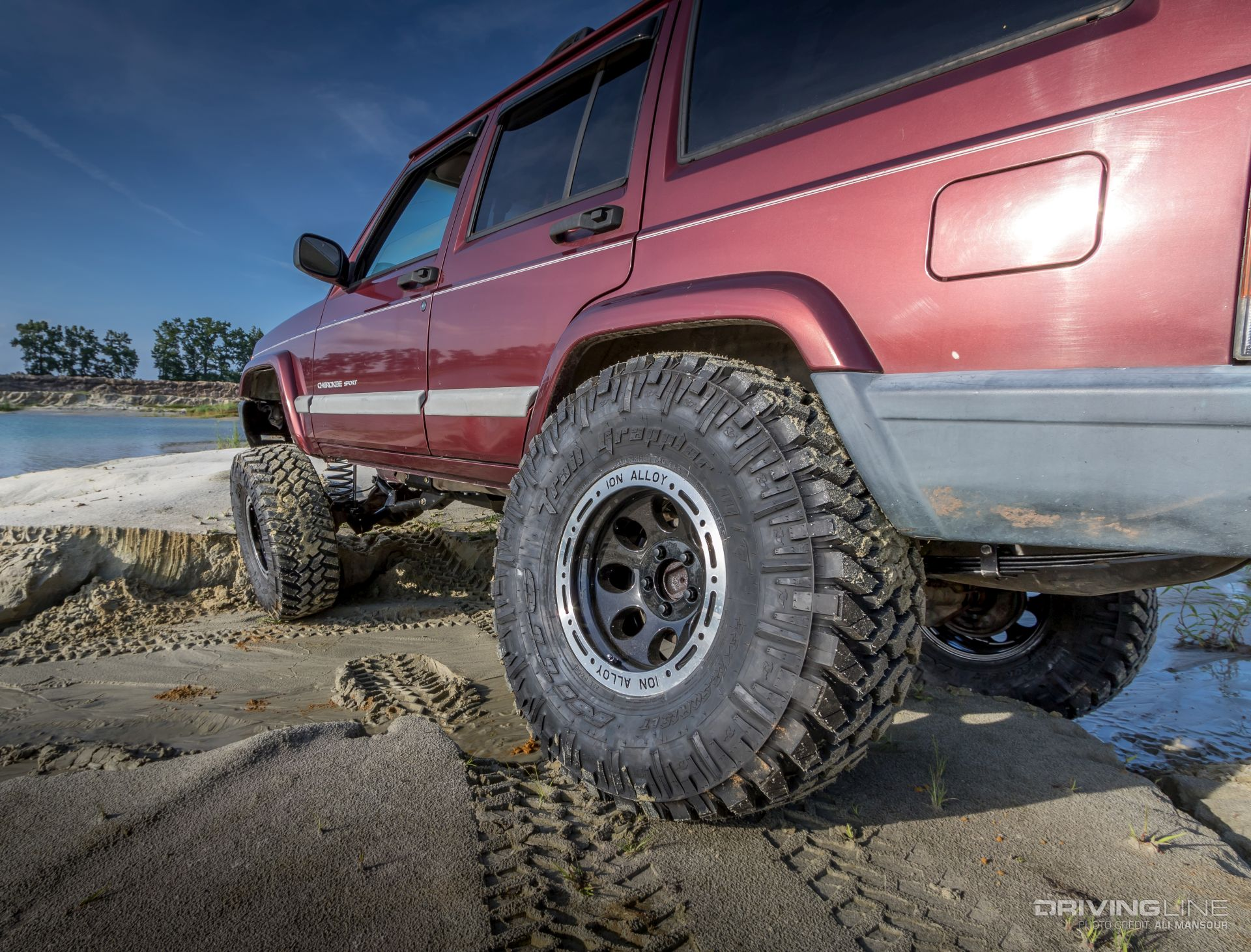 Cherokee Control Rough Country S 4 5 Long Arm Suspension