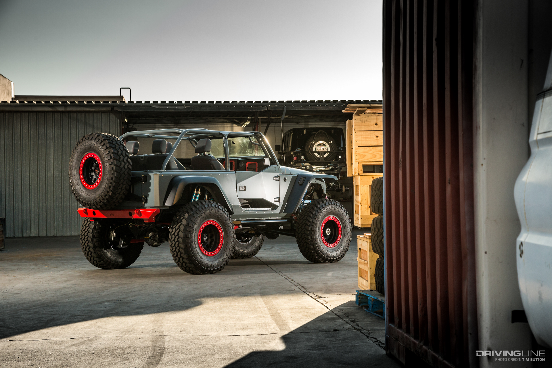 Jeep Information And Evolution Offroaders Com >> This Is The Uae1 A Heavily Modified Jeep Wrangler Built For A
