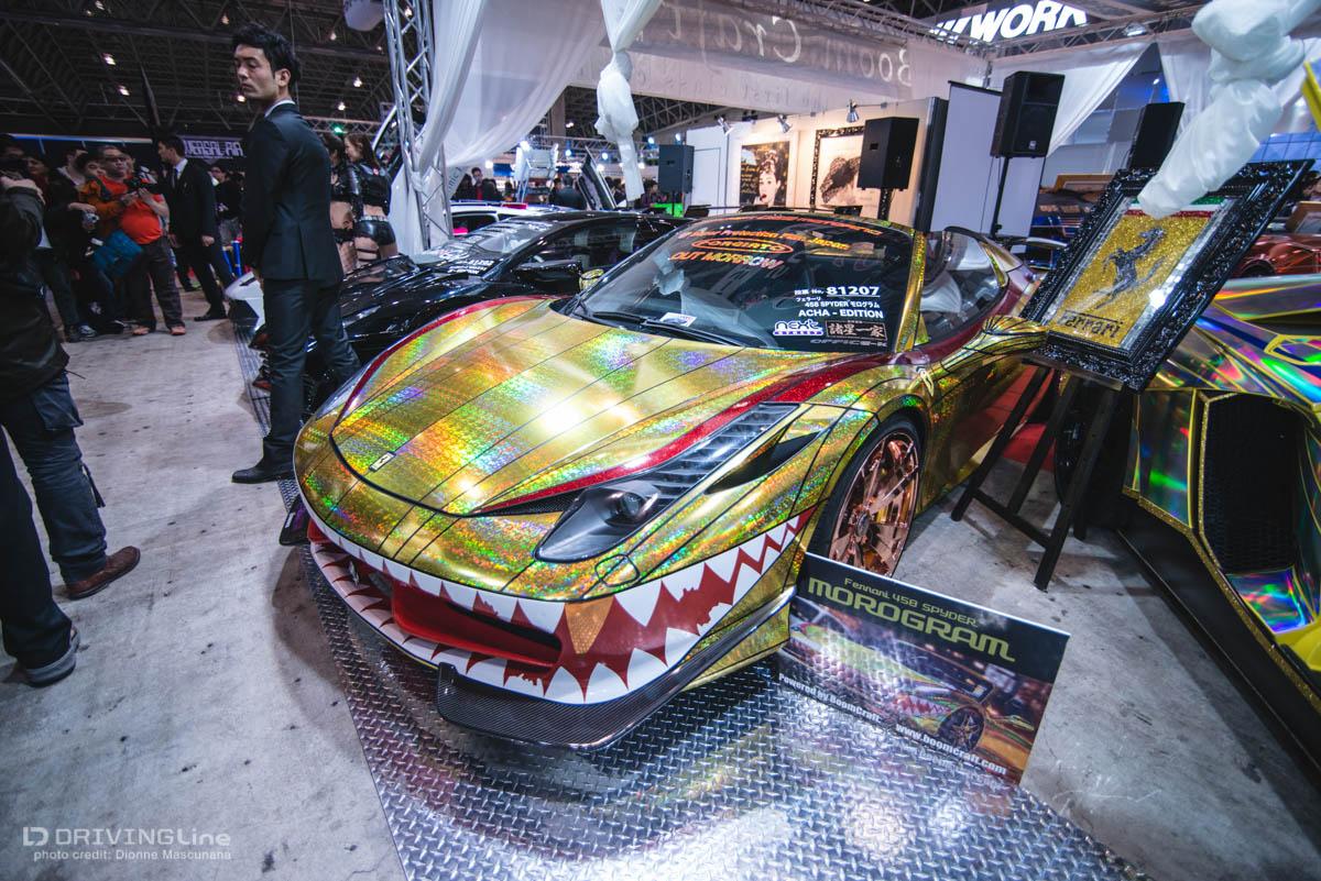 Tokyo auto salon cab confessions video gallery drivingline for 2006 tokyo auto salon